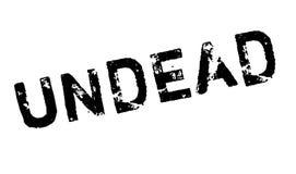 Rubber stämpel för Undead stock illustrationer