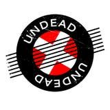 Rubber stämpel för Undead royaltyfri illustrationer