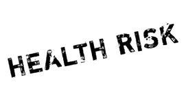 Rubber stämpel för vård- risk royaltyfri illustrationer