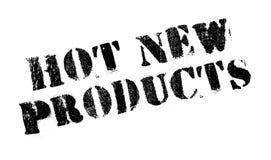 Rubber stämpel för varma nya produkter Royaltyfri Bild