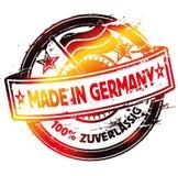 Rubber stämpel som göras i Tyskland Arkivbild