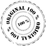 Rubber stamp: 100% Original Stock Images