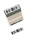 Rubber Stamp. A rubber stamp isolated against a white background royalty free stock image
