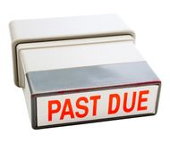 Rubber stamp Royalty Free Stock Photos