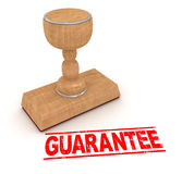 Rubber stamp - guarantee Royalty Free Stock Photos