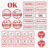 Rubber Stamp Icon Royalty Free Stock Photography