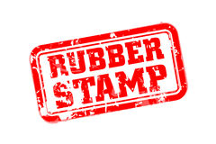 Rubber stamp Royalty Free Stock Photo