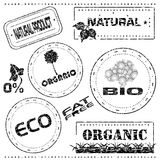 Rubber stamp recycling Stock Photos