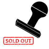 Rubber Stamp, Sold Out Stock Photography