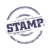 Rubber stamp template Royalty Free Stock Images