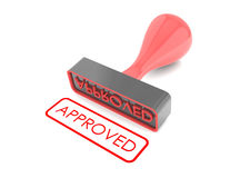 Rubber Stamp Royalty Free Stock Images