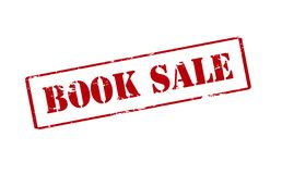 Book sale. Rubber stamp with text book sale inside,  illustration Royalty Free Stock Images