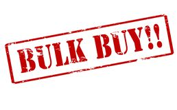 Bulk buy. Rubber stamp with text bulk buy inside,  illustration Royalty Free Stock Photography