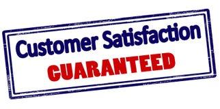 Customer satisfaction guaranteed. Rubber stamp with text customer satisfaction guaranteed inside,  illustration Stock Photography