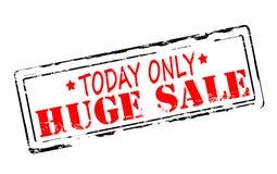 Huge sale. Rubber stamp with text huge sale inside, illustration vector illustration