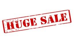 Huge sale. Rubber stamp with text huge sale inside,  illustration Royalty Free Stock Images