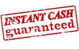 Instant cash guaranteed Royalty Free Stock Photos