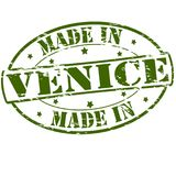 Made in Venice. Rubber stamp with text made in Venice inside,  illustration Royalty Free Stock Images