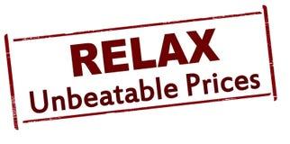 Relax unbeatable price Stock Photos