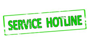 Service hotline Royalty Free Stock Images