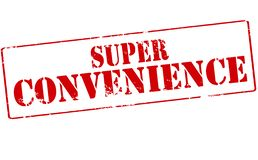 Super convenience. Rubber stamp with text super convenience inside,  illustration Stock Photography