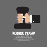 Rubber Stamp Tool Royalty Free Stock Photography