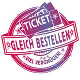 Rubber Stamp With Tickets Royalty Free Stock Images