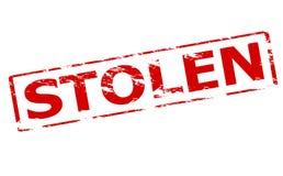 Stolen. Rubber stamp with word stolen inside, illustration vector illustration