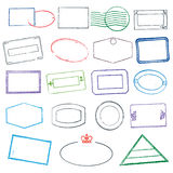 Rubber Stamps Royalty Free Stock Photo
