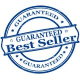 Best seller. Rubber stamps with text best seller inside,  illustration Stock Photo
