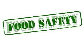 Food safety. Rubber stamps with text food safety inside,  illustration Royalty Free Stock Photos
