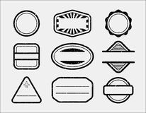 Rubber stamps Stock Images