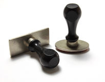 Rubber Stamps Stock Photo