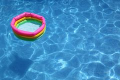 Rubber swimming pool Royalty Free Stock Photos