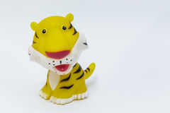 Rubber tiger Stock Photography