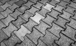 Rubber tiles on floor Royalty Free Stock Photos