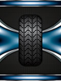 Rubber tire Royalty Free Stock Photography