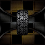 Rubber tire Stock Photography