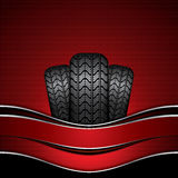 Rubber tire Royalty Free Stock Image