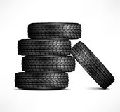 Rubber tires Royalty Free Stock Images