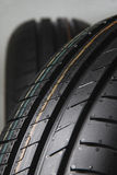 Rubber tires new for sale Royalty Free Stock Image