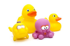 Rubber toys royalty free stock photo