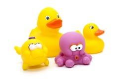 rubber toys Royaltyfri Foto
