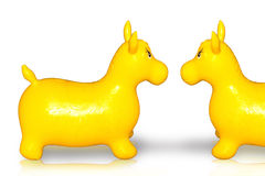 Rubber toys Royalty Free Stock Images