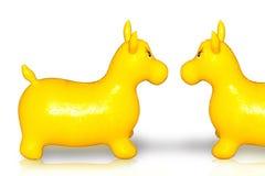 rubber toys Royaltyfria Bilder