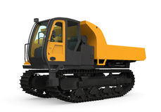 Rubber Track Crawler Carrier Royalty Free Stock Photos
