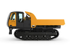 Rubber Track Crawler Carrier Royalty Free Stock Image