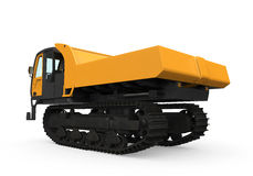 Rubber Track Crawler Carrier Royalty Free Stock Photo