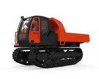 Rubber Track Crawler Carrier Stock Images