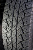 Rubber Truck Tire Royalty Free Stock Photos